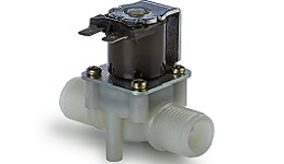 "1/2"" Tube Normally open plastic solenoid valve"