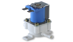 "1/4"" Tube Normally open plastic solenoid valve"