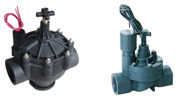 25 and 50 mm plastic solenoid valve