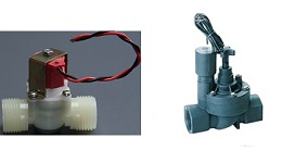 magnetically latching solenoid valves for auto taps and faucets, irrigation system