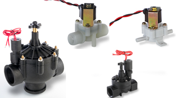 bistable, latching solenoid valve